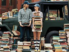 love is when he accept that you are crazy for books ;)