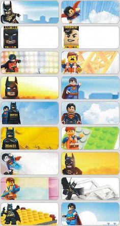 36 Lego Movie Custom Waterproof name labels school, kindergarten, day care Hobbies To Take Up, Great Hobbies, Printable Labels, Printable Stickers, School Labels, Kids Labels, Name Labels, Name Stickers, Woodworking Skills