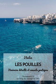 Visiter les Pouilles : que voir ? Que faire ? Je vous offre mon itinéraire détaillé et mes conseils pratiques pour un road trip d'une semaine en Italie. #puglia #italie #lespouilles via @voyagesetc.fr