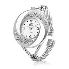 SHARE & Get it FREE | Cussi 45156 Simple Fashion Quartz Watch Bracelet with Rhinestone Dial for LadyFor Fashion Lovers only:80,000+ Items • FREE SHIPPING Join Twinkledeals: Get YOUR $50 NOW!
