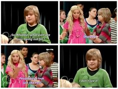 I will never get over how Disney was smart enough to use the opportunity to reference Ashley Tisdale playing in both The Suite Life of Zack and Cody and High School Musical. I loved this episode! Walt Disney, Disney Love, Disney Magic, Disney Stars, High School Musical, Disney Memes, Disney Quotes, Pixar, Old Disney Shows