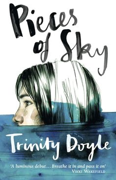 Pieces of Sky - Trinity Doyle, illustration by Paula Bonet and the hand lettering by Bianca Cash book design Best Book Covers, Beautiful Book Covers, Book Cover Art, Book Cover Design, Book Design, Book Art, Australian Authors, Book Illustration, Childrens Books
