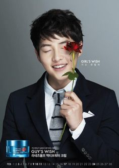 song joong ki --- Laneige calender 2013
