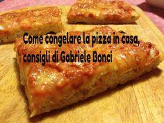 Come congelare la pizza in casa, consigli di Bonci