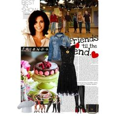 Friends - Monica, created by ajkc on Polyvore