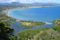 Aerial View Baracoa, Cuba, Most Beautiful Place In Cuba.