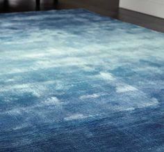 Ombre - Duck Egg Blue Rugs | Modern Rugs