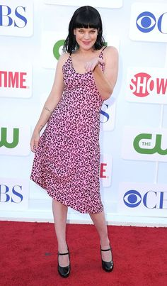 """Pauley Perrette (""""NCIS"""") arrives at the CBS, Showtime, and The CW Summer 2012 Press Tour Party on July 29, 2012 in Beverly Hills, California.                     I LOVE HER DRESS!!! Ncis Abby Sciuto, Pauley Perrette Ncis, Press Tour, The Cw, Celebs, Celebrities, Party Photos, Beverly Hills, My Girl"""