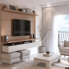 TV Wall Mount Ideas - 14+ Simple And Modern TV Wall Mount Ideas for Living Room, Awesome Place of Television, nihe and chic designs, modern decorating ideas. | Television is one of the most dominant mass media in the world. Tv is much stronger than the Internet, and every family has at least 2/3 televisions in the home. Programs broadcasting on the TV include various topics, sporting events, documentaries, films, fiction, cultural insights, journalistic inquiries, information, cooking…