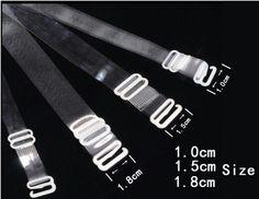 2014 женщин бюстгальтер лямками , прозрачные лямки ( 1. 8 см в ширину ) из высокое качество стальной пряжкой прозрачным матовым опционально