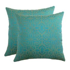 Very pool house. I pinned this Sophia Pillow (Set of 2) from the Refined Elegance event at Joss and Main!