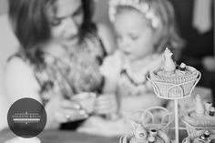 tea party cupcakes with mom! precious moments. view more collections at: www.colettekulig.com