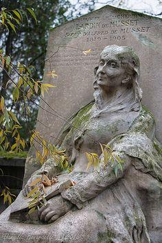 Tombe de la soeur d'Alfred de Musset - Cimetière du Père Lachaise