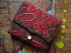 Reverse Applique Wallet :-)  JUST LOOK AT ALL THE BAGS YOU CAN DEAM UP FOR YOU AND YOU FRIENDS