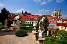 Aria Hotel Prague- Beautiful baroque gardens & every floor is decorated to a specific musical genre, and every room after a specific artist.