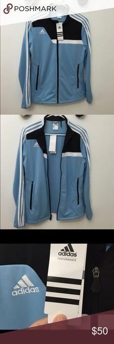 Adidas Jacket NWT NWT// I'm a size small and medium fits me perfectly // no flaws! Adidas Jackets & Coats