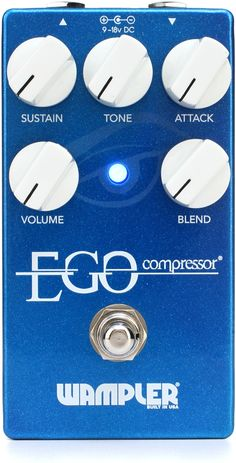 Wampler Ego Compressor/Sustain Pedal with True Bypass (Want)