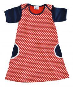 Elke meisje straalt in dit bolletjes kleedje van L'asticot voor € 49.95.