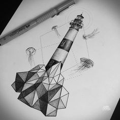 Interpretation of Bodie Island lighthouse.
