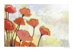 Poppies in Cream (Jennifer Lommers)
