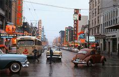 fred herzog:  vancouver 1959.  granville/robson