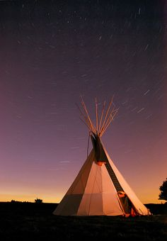 Star trails above a tipi we stayed in on a canoe trip down the River Wye near Hereford. Native American Teepee, Native American Photos, Native American Indians, Native Americans, Color Photography, Landscape Photography, Indian Teepee, Photo Letters, Star Trails