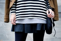 How to layer for fall and winter. #layering #streetsyle #style