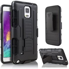 รีวิว สินค้า for Samsung Galaxy Note 4 Hybrid Full Protection High Impact Dual Layer Holster Case with Kickstand and Belt Clip ⚽ ซื้อ for Samsung Galaxy Note 4 Hybrid Full Protection High Impact Dual Layer Holster Case with Kickstand  แคชแบ็ค | couponfor Samsung Galaxy Note 4 Hybrid Full Protection High Impact Dual Layer Holster Case with Kickstand and Belt Clip  สั่งซื้อออนไลน์ : http://online.thprice.us/2gZuX    คุณกำลังต้องการ for Samsung Galaxy Note 4 Hybrid Full Protection High Impact…