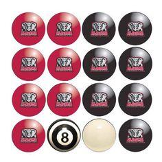 Alabama Crimson Tide NCAA 8-Ball Billiard Set