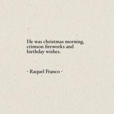 Words by Raquel Franco