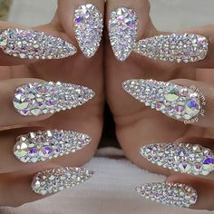 nail designs and colors:check latest spring nail design and colors you will love spring nail designs nail designs for short nails,spring nail designs nail designs for tipsspring nails colors,spring nails nail colors nail art 2019 Glam Nails, Bling Nails, Cute Nails, Pretty Nails, My Nails, Bling Bling, Bling Nail Art, Gelish Nails, Diamond Nail Designs