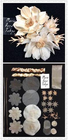 Yoko Asai #Fabricflowershandmade