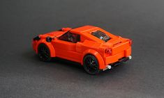 Lego 2017 Alfa Romeo 4C Coupe - 02 | I'm not as much of a fa… | Flickr