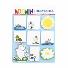 $9.95!!!  Moomin Sticky Notes - Moomin Collectibles