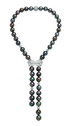Black South Sea Pearls by Van Cleef & Arpels