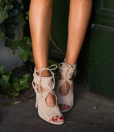 Aquazzura Sexy Things nude sandals, a classic