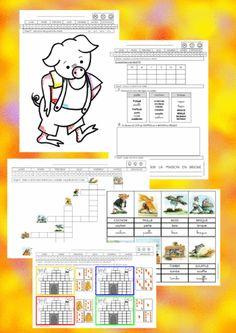 Les 3 petits cochons Child Teaching, Petite Section, Three Little Pigs, Teaching Activities, Teaching French, 3 D, Fairy Tales, School, Recherche Google