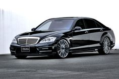 Mercedes Benz S-class W221 M/C after Sports Line Black Bison Edition