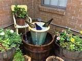 Charming garden fountain