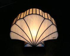 Lamp Art Deco shell Tiffany