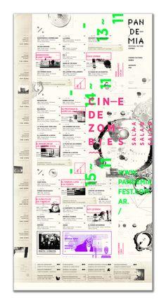 PANDEMIA - Festival de Cine Zombie by Jimena Rivera http://bit.ly/1eHq871