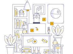 Dribbble - Geek Final by Isabel Sousa