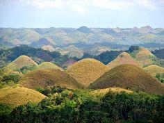 フィリピンの絶景 チョコレートヒル