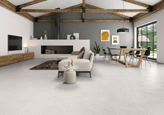 Coloso Collection: Stony inspiration. #floortile #tile #porcelain #pavimento #livingroom #salon #stone #decoration #decoracion #inspiracion #style #mediterraneo #rustico #coloso #argenta #friendlytile