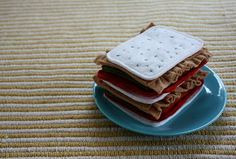 Lasagna from Craftiness is not Optional. Blog includes a wide variety of felt food posts, including a number of tutorials.