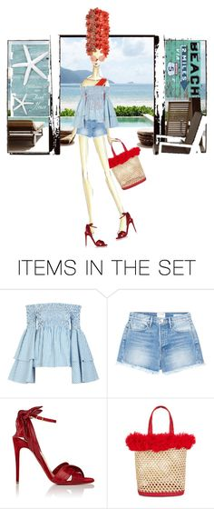 """Big Hair"" by diannecollier ❤ liked on Polyvore featuring art"
