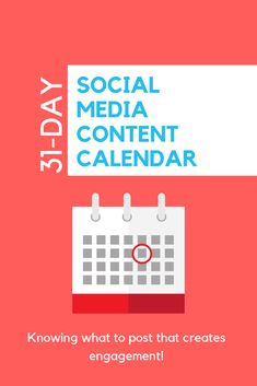 This FREE social media content calendar is going to take the stress of not knowing what to post away and get you started on posting GREAT CONTENT that sparks engagement. Alrighty, get started! Power Of Social Media, Social Media Content, Get Started, You Got This, Calendar, Stress, Engagement, Day, Free