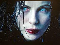 After drinking Alexander Corvinus' blood in Evolution Underworld Selene, Underworld Movies, Underworld Kate Beckinsale, Vampires And Werewolves, Jason Voorhees, Michael Myers, Actor Model, Series Movies, Heroines