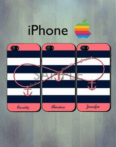 Iphone Cases For Three Best Friends
