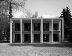 Uwe Schrörer   Casa Blomer-Feldmann   Bonn, Alemania   1994-1996